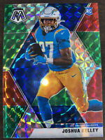 2020 Panini Mosaic Joshua Kelley Choice Red & Green Prizm RC SP LA Chargers!