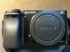 Sony a6000 Mirrorless Camera body NP-FW50 battery strap 16GB card, new Sony case