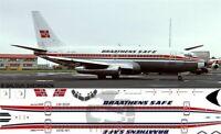V1 Decals Boeing 737-200 Braathens Safe for 1/144 Airfix Model Airplane kit