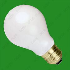 1x 25 White Coloured GLS Decorative Party Light Bulb Standard ES E27 Screw Lamps