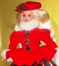 JEWEL PRINCESS BARBIE Winter Princess Doll 1996 NRFB
