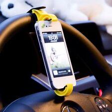 Auto Fahrrad Halterung Lenkrad Mount Halter für Handy GPS Cradle Holder Bike Car