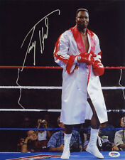 Larry Holmes SIGNED 11x14 Photo Boxing Champion PSA/DNA AUTOGRAPHED
