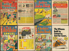 4 Vintage Archie Comic Books