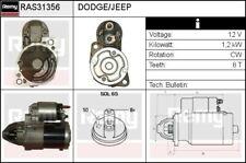 Original REMY RAS31356 Starter Anlasser für DODGE, JEEP -pfandfrei- BPE