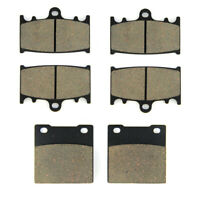 Front + Rear Brake Pads for GSXR 600 (97-03)/GSXR 750 (00-03)/TL 1000 S (97-01)