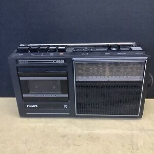 PHILIPS 092 BOOMBOX STEREO GHETTO BLASTER VINTAGE RARE