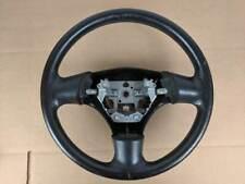 1999-2005 Mazda Miata OEM NB NB1 NB2 99-05 Steering Wheel Black Leather #9