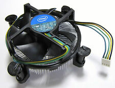 Intel Original Socket LGA 1150, 1155, 1156 for i3 i5 i7 4Pin CPU Heatsink Fan