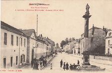 CPA GUERRE 14-18 WW1 SAINT-DIE rue saint-charles l'hôpital militaire écrite 1915