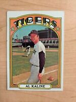 1972 Al Kaline Topps Baseball Card #600 (Original)