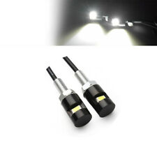 2Pcs 12V Bright White 5730-SMD Bolt-On LED License Plate Lights For Car