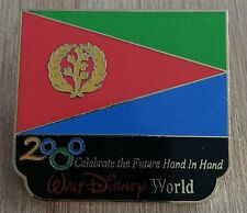 Millennium Village WDW Flag Pin Eritrea Pavilion 2000 Disney Pin