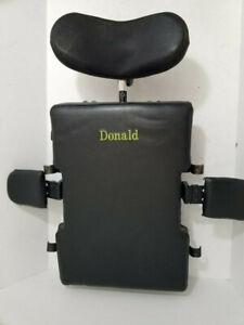 Jay SureFit Wheelchair Back Pad Backrest Cushion w/ Hardware & Headrest