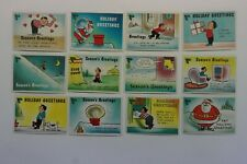 Yule Laff set of 66 cards 1960 Fleer excellent to near mint