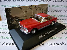 Voiture 1/43 IXO altaya Voitures d'autrefois : FACEL VEGA FVS 1955 rouge