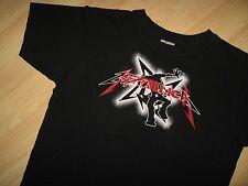 Metallica Tee - Rock & Roll Heavy Metal Concert Tour T Shirts Women's Large Jr