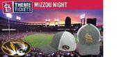 St Louis Cardinals MIZZOU CAP HAT UNIVERSITY MISSOURI SGA