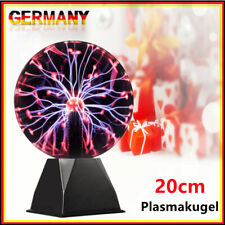 Plasmakugel 20cm - Toller Retro Lichteffekt / Magische Blitze im Plasmaball