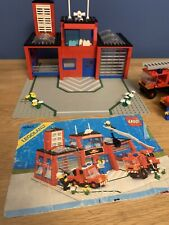 Vintage Lego Set 6385 Fire House Fire Station