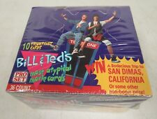 1991 Pro Set Bill & Ted's Most Atypical Movie Cards Factory Sealed Box A909