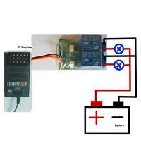 2-in-1 Relais Switch Elektronischer Controller für RC Flugzeug Modell Reperatur
