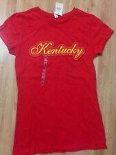 Kentucky Red State Shirt Athletic Graphic Tee Juniors Tshirt XLrg Louisville