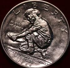 Uncirculated 1925 California Diamond Jubilee Silver Commemorative Half Dollar