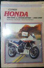 M349 Honda 700-1000 Interceptor 1983-1985 Clymer Manual De Taller De Motos