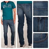Men's Ex ARMAND Regular Fit Denim Cup Straight Fashion Flex Stretch Jeans €49.99