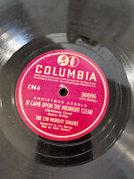 Lyn Murray Singers 78 Columbia 36655 It Came Upon the Midnight Clear Xmas V++