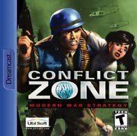 Conflict Zone: Modern War Strategy - Sega Dreamcast (Complete)