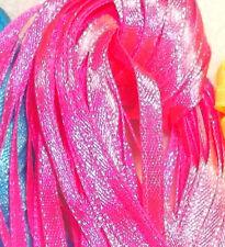 RIBBON BONANZA - 8 - 10 metres NARROW RIBBON - Shocking Pink