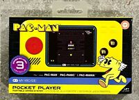My Arcade - Pac-Man Pocket Player Portable Gaming System (Yellow/Black) NEW!