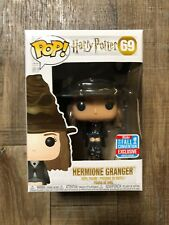 Funko Pop! Hermione Granger W/ Sorting Hat NYCC EXCLUSIVE IN HAND READY TO SHIP