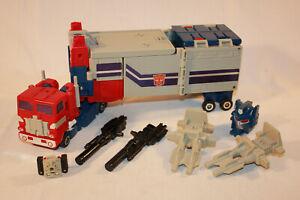 G1 Transformers Lot Powermaster Optimus Prime Complete !!!!!! Autobot