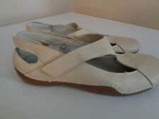 "Propet ""Merlin"" Beige Leather Slingback Comfort Shoe Women's size 7.5 M~DISPLAY"