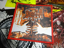 Death Patch Death Metal Red Border Misery Index