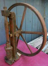 ECOL PUMP SUPPLY CO COLUMBUS OHIO Cast Iron Wheel THE HAZEL Water Pump Piston
