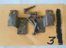 Antique Org Globe Wernicke Stacking Bookcase Door Roller Hinge With Screws #3