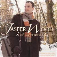 FREE US SHIP. on ANY 3+ CDs! ~Used,Good CD : Ives: Works for Violin & Piano