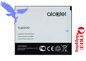 Replacement Battery for Alcatel  Part Number TLp025H1 TLp025H7 Free Shipping