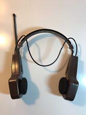 Vintage Life Long Folding Brown Hershey's Skor AM/FM Radio Headset Model #222