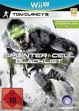 Nintendo Wii U WiiU Spiel * Tom Clancy´s Splinter Cell Blacklist *****NEU*NEW*18