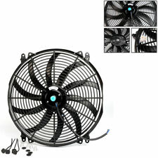 "16"" 16 INCH RADIATOR FAN THERMO FAN ELECTRIC COOLING FAN 40cm+MOUNTING KIT"