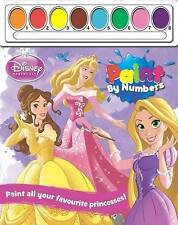 Disney Princess Paint by Numbers by Parragon (Paperback, 2015)