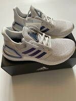 Women's Adidas ULTRABOOST 20W Size UK 5 Dash Grey Boost Blue Violet Running BNIB
