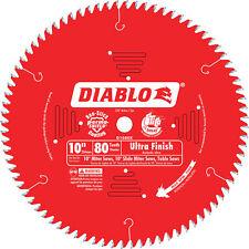 Diablo Ultra Finish Circular Saw Blade 10in 80 Tooth