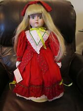 Goebel Betty Jane Carter Musical Holly Christmas Doll by Bette Ball