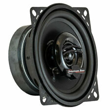 "AMERICAN BASS SYMPHONY 4 4.0"" 45W RMS FULL-RANGE CAR AUDIO COAXIAL SPEAKERS NEW"